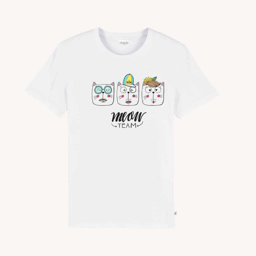 MEOWTEAM BLANC TSHIRT 1024x1024 - Meow Team